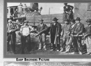 An image of the Earp Brothers