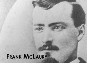 A headshot of Frank McLaury