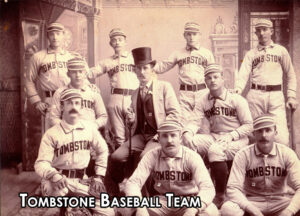 An image of the old Tombstone Baseball team