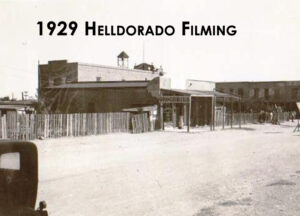 An image from the Helldorado Filming in 1929