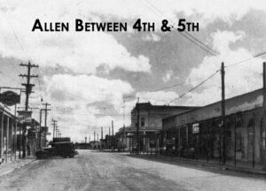 A view of Allen Street