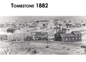 A view of Tombstone in 1882