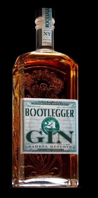 Bootlegger New York Craft Barrel Reserve Gin