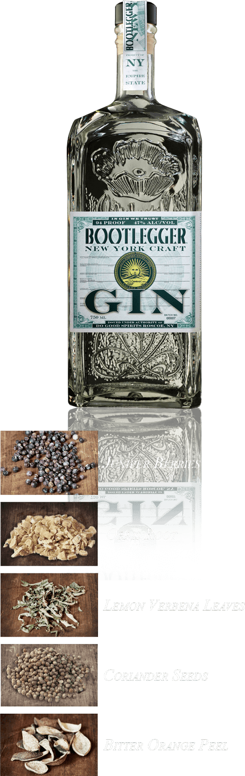 Bootlegger New York Craft Gin