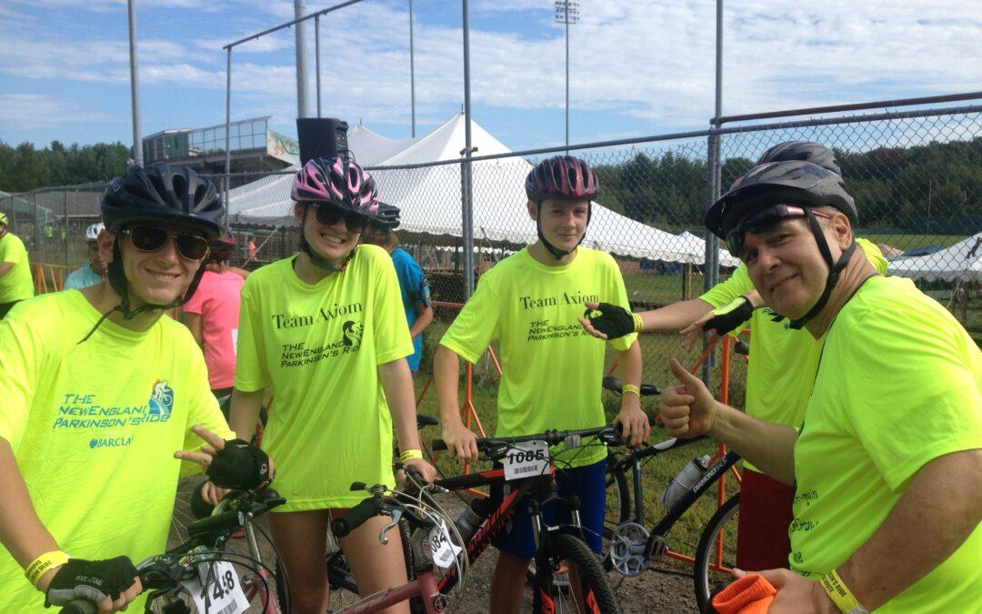 Team Axiom New England Parkinson's Ride