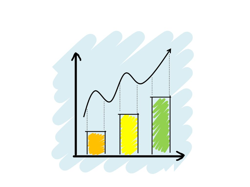 analytics, chart, drawing