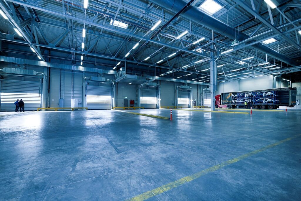 industrial hall, toore, warehouse