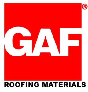 GAF roofing materials logo
