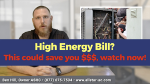 high energy bill it could be your ac get an inspection