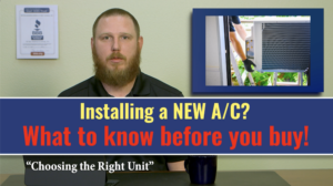 what to know before you install a new a/c