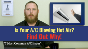 Before you call in a repair, here are the 7 most common A/C issues