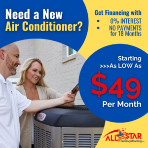 need a new air conditioner financed