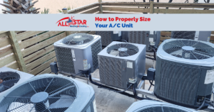 When Deciding On A New A/C System To Install, Or Replacing An Old Air Conditioner, Size Matters!