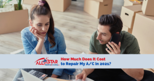 ashc how much does it cost to repair my ac in 2021