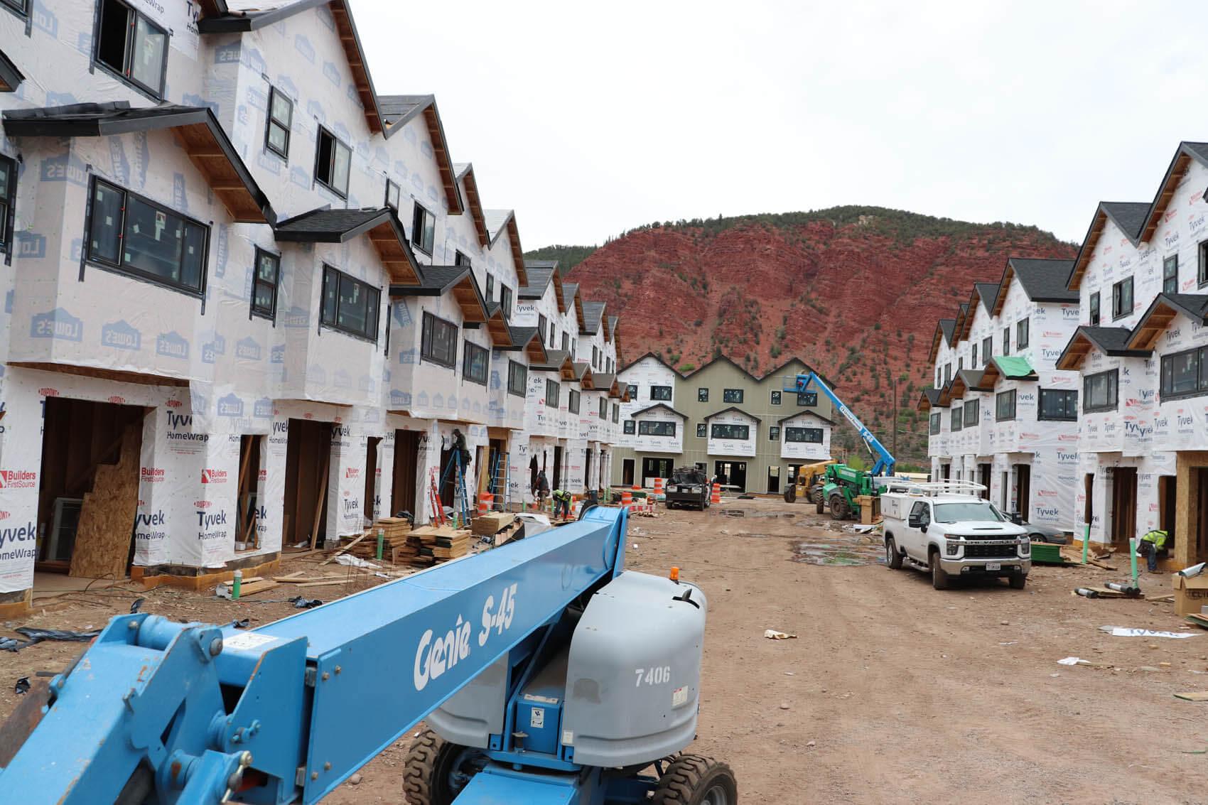 Solstice Townhomes Construction Progress
