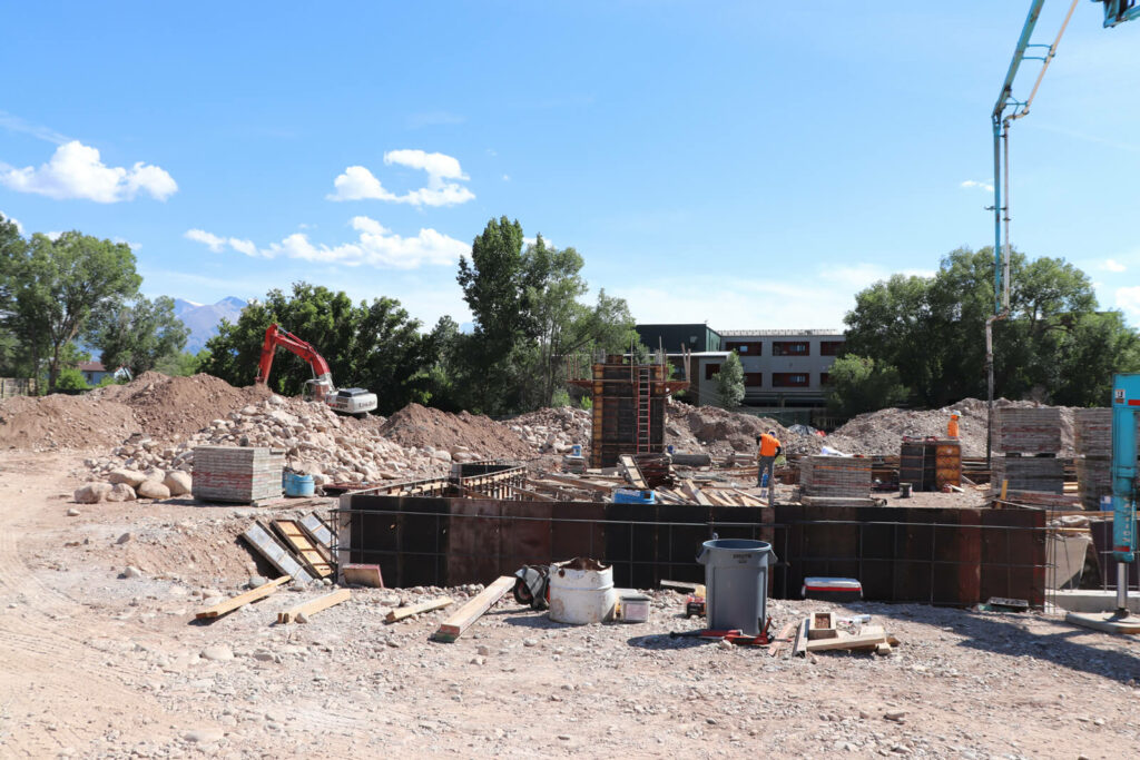 Sopris Lodge Construction