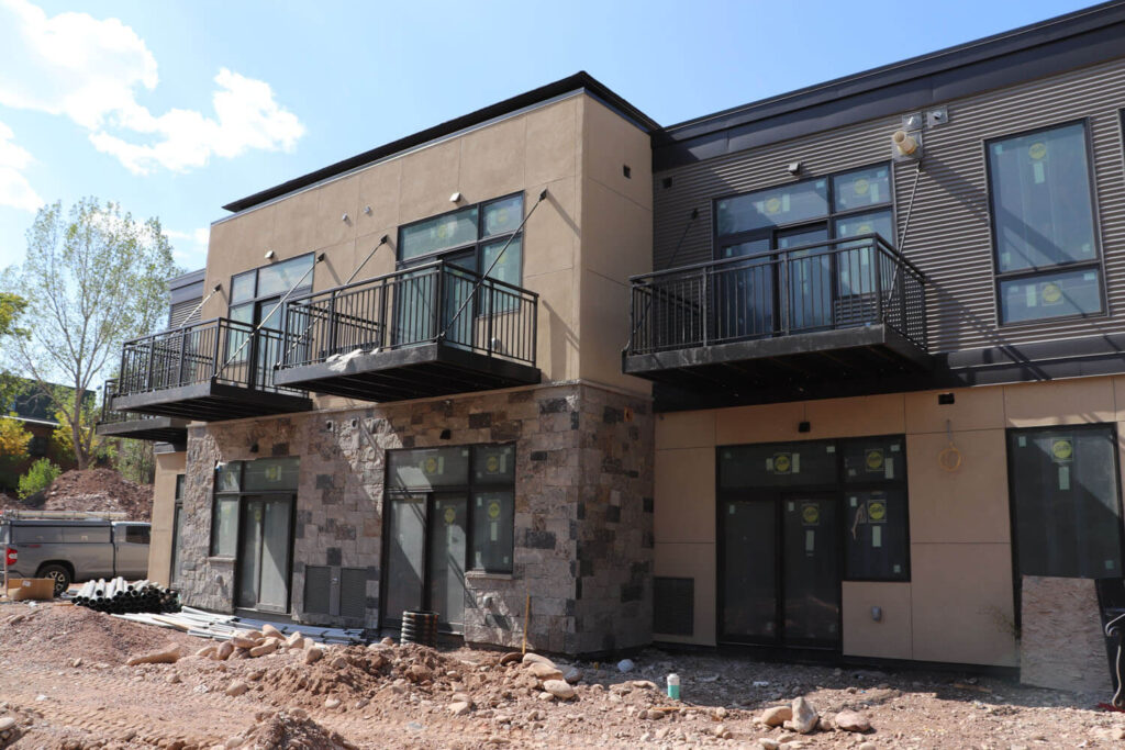 Sopris Lodge Commercial Construction Project Carbondale