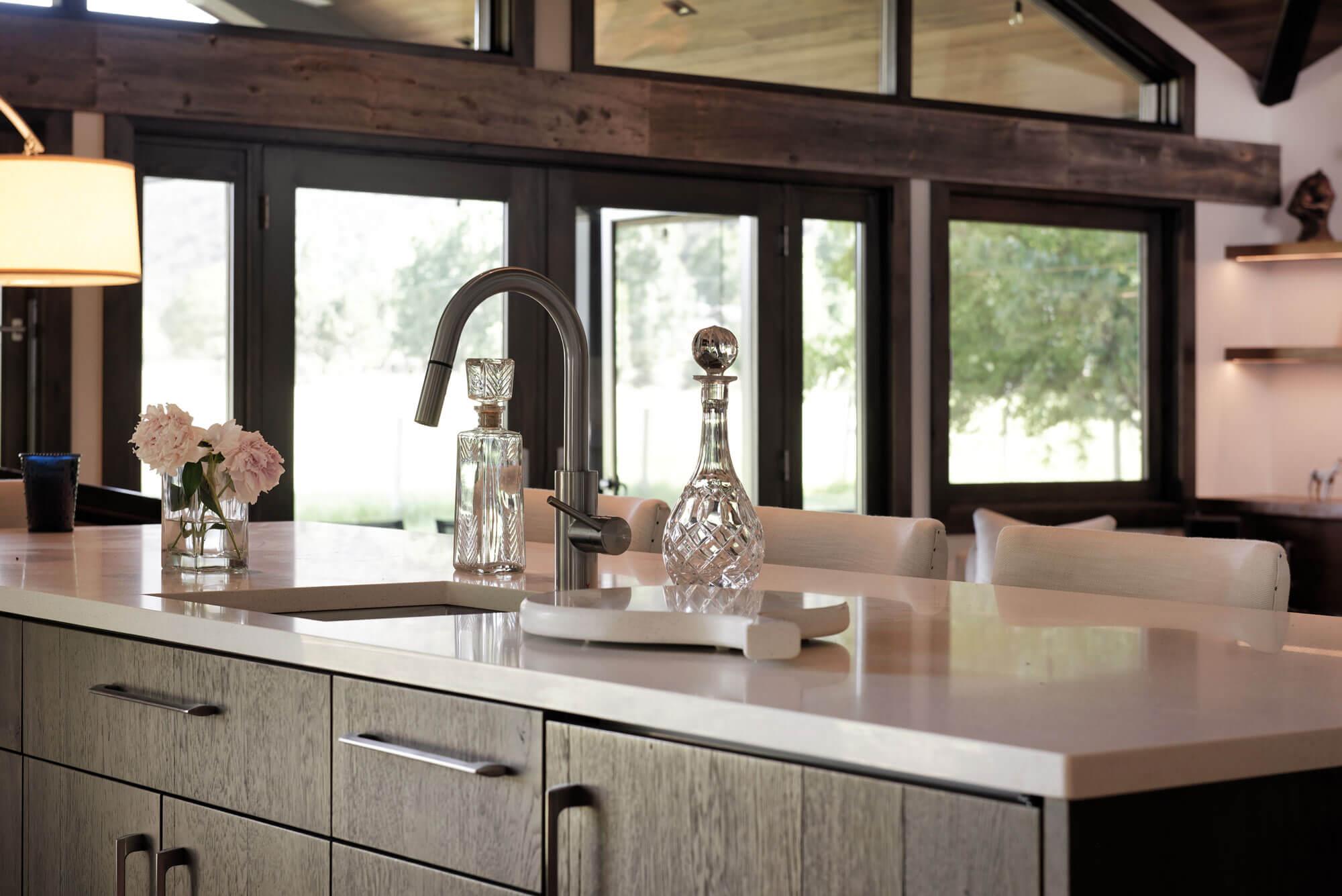 Spur Drive kitchen island