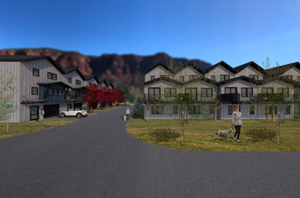 Solstice Town Homes rendering