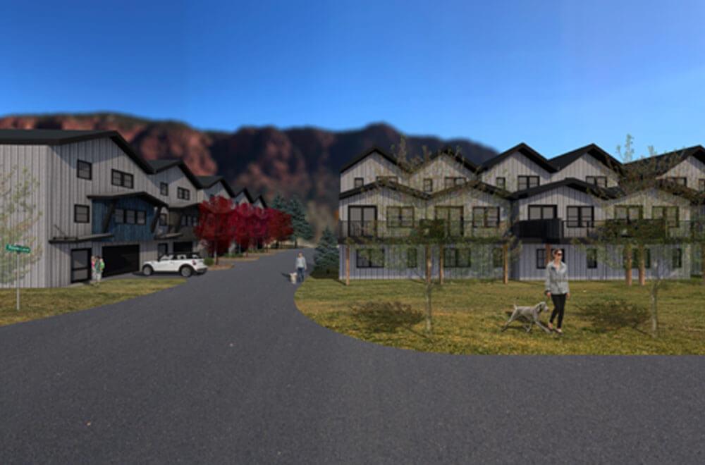 Solstice Town Homes rendering