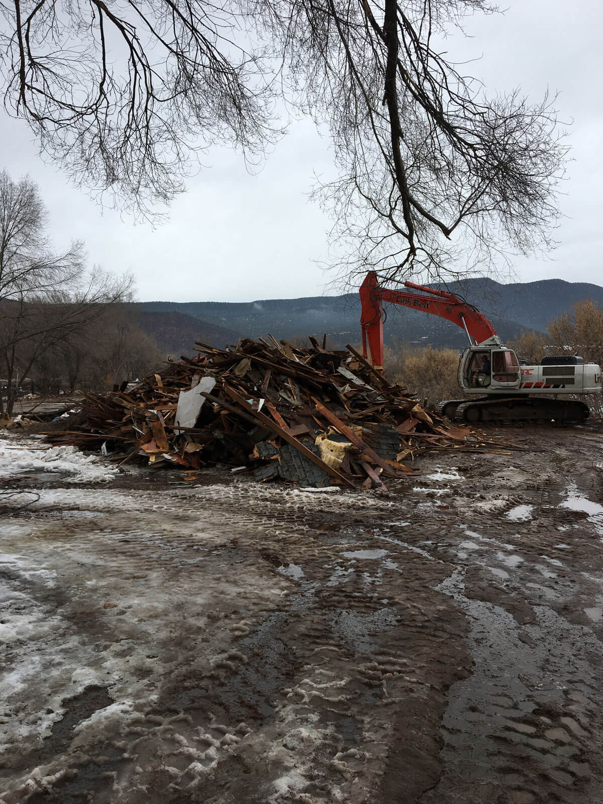 Sopris Lodge Demolition