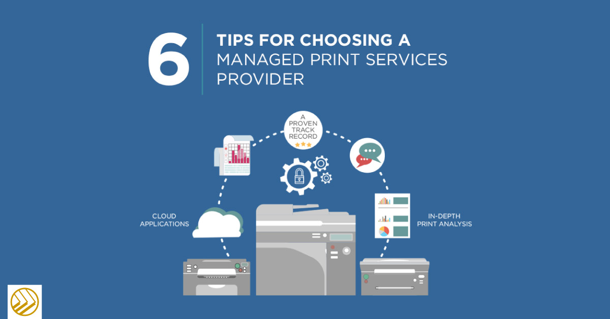 Tips for choosing a managed print services provider