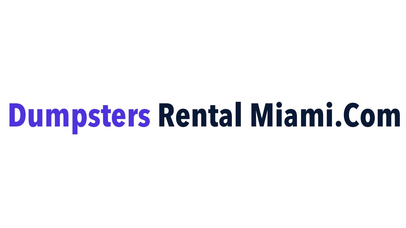 Dumpsters Rental Miami