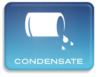 Condensate harvesting collects water that has condensed on air handling units. This can be a good source of water in the summer. Click here to learn more.