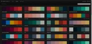Color Themes with Adobe Color