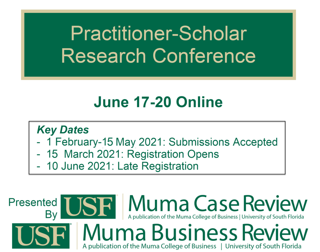 Practitioner-Scholar Research Conference 17-20 June 2021