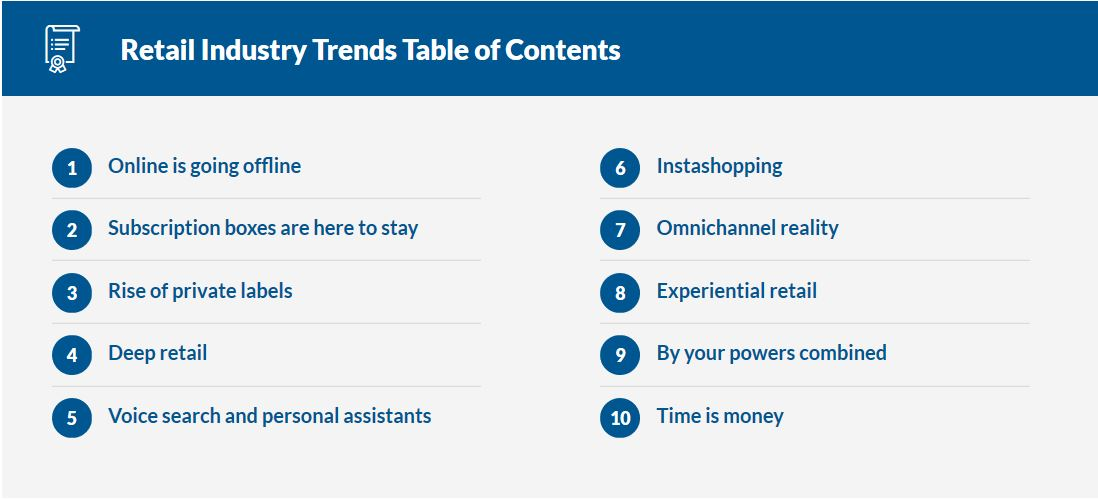 Retailer Insights: A Look Into What's Next