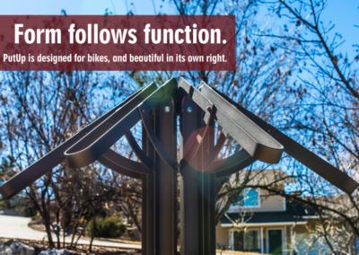 Bicycle Racks, Denver, CO, Form Follows Function Image - PutUP