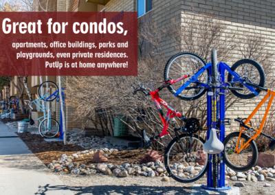 Bike Racks, Denver, CO, For Condos Slider Image - PutUP
