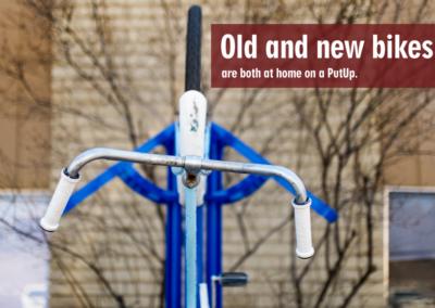 Bike Racks, Denver, CO, Old And New Image - PutUP