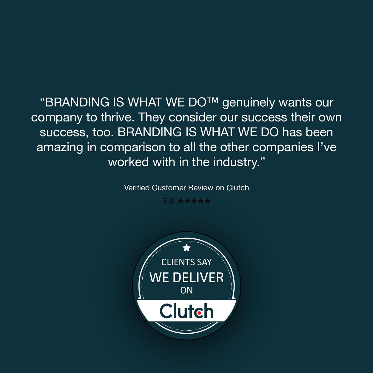 We're a Denver Graphic Design Firm Listed on Clutch.com