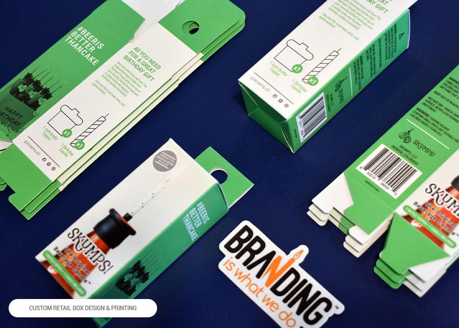 custom box graphic design for retail