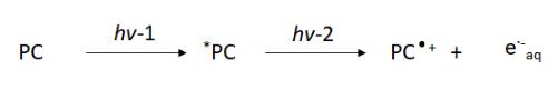 Consecutive photoexcitation of photocatalyst