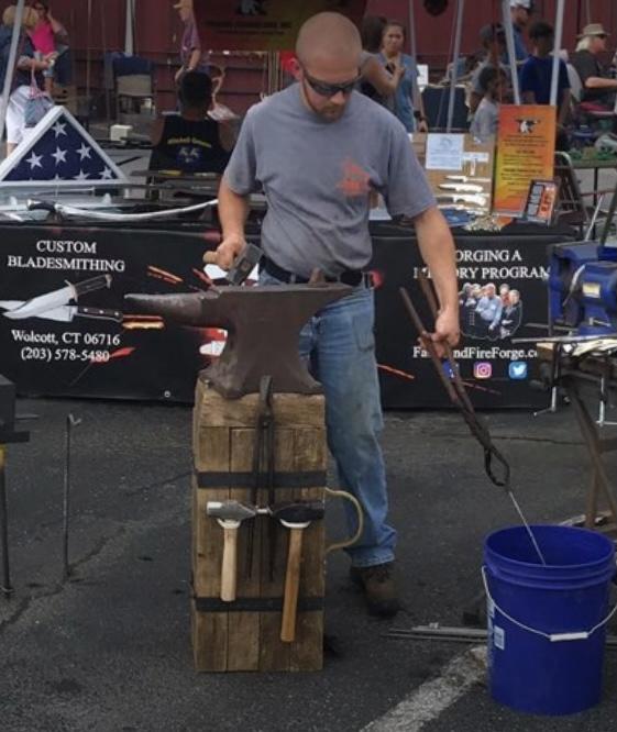Aric Blacksmithing