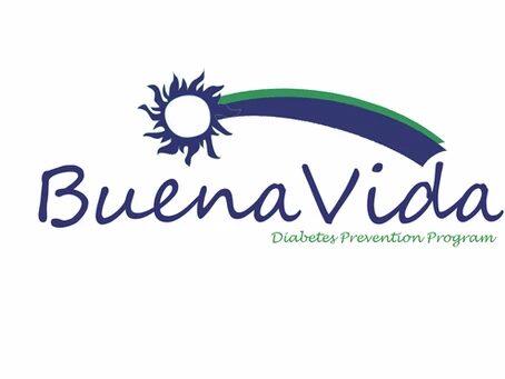 Buena vida diabetes prevention program logo
