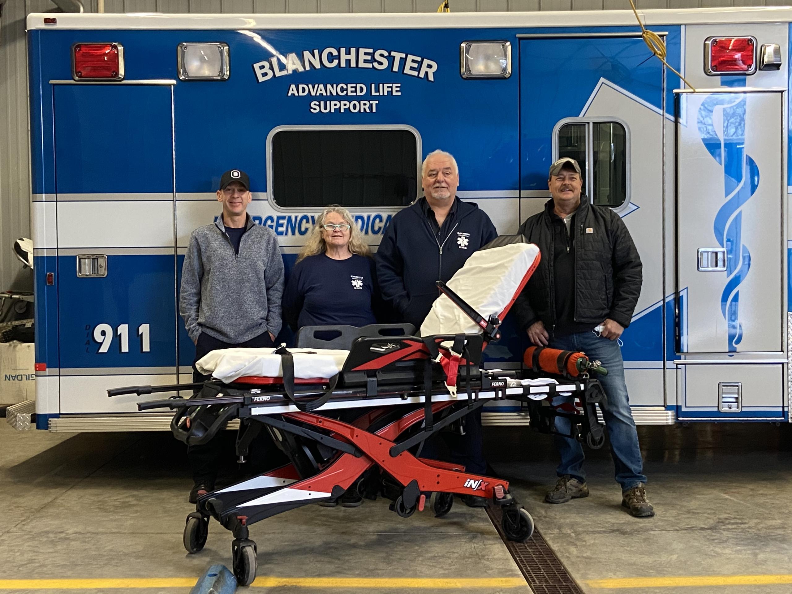 Blanchester EMS Grant Recipient