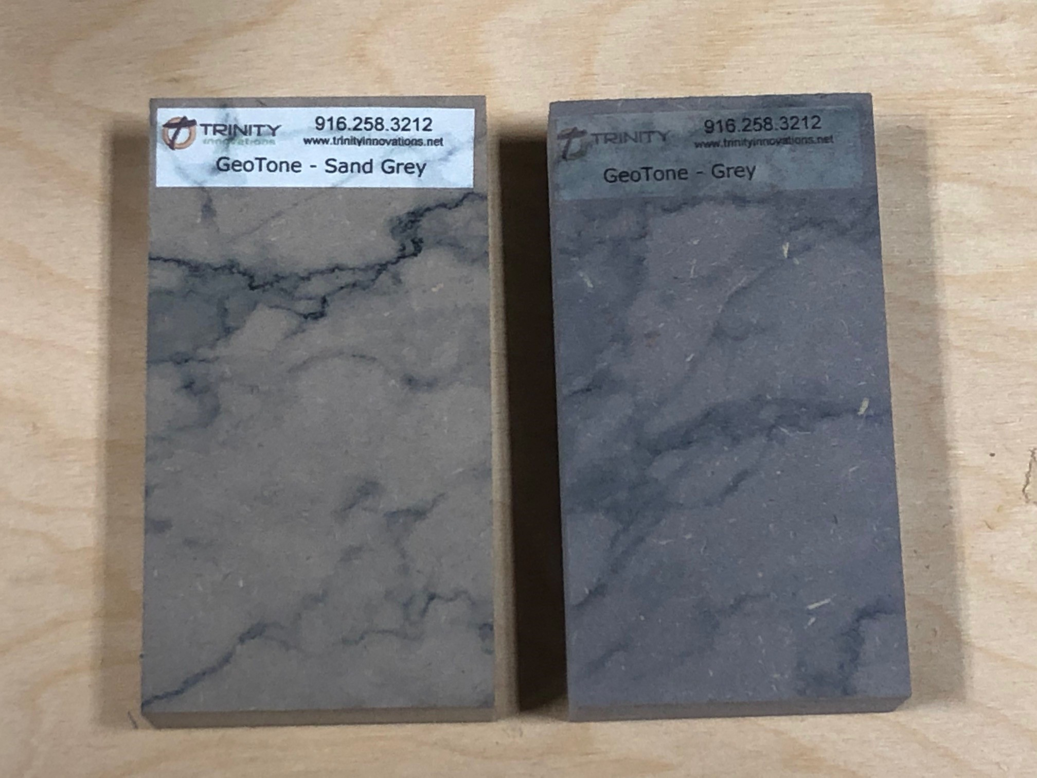 Sand Grey with Marble Print