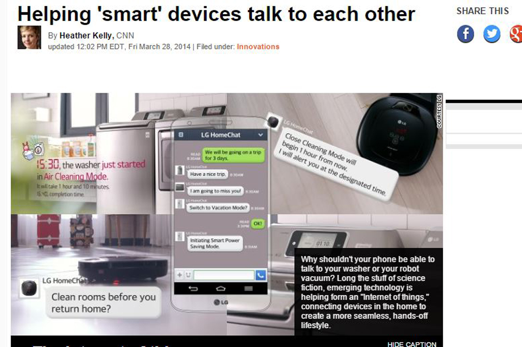 Helping 'smart' devices talk to each other