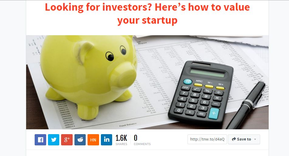 Looking for investors? Here's how to value your startup