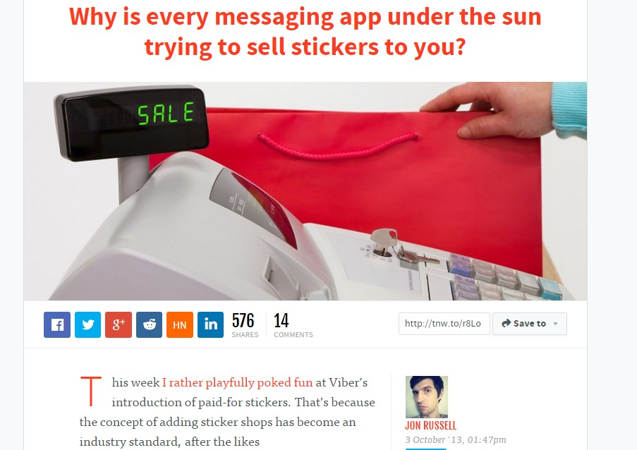 Why is every messaging app under the sun trying to sell stickers to you?