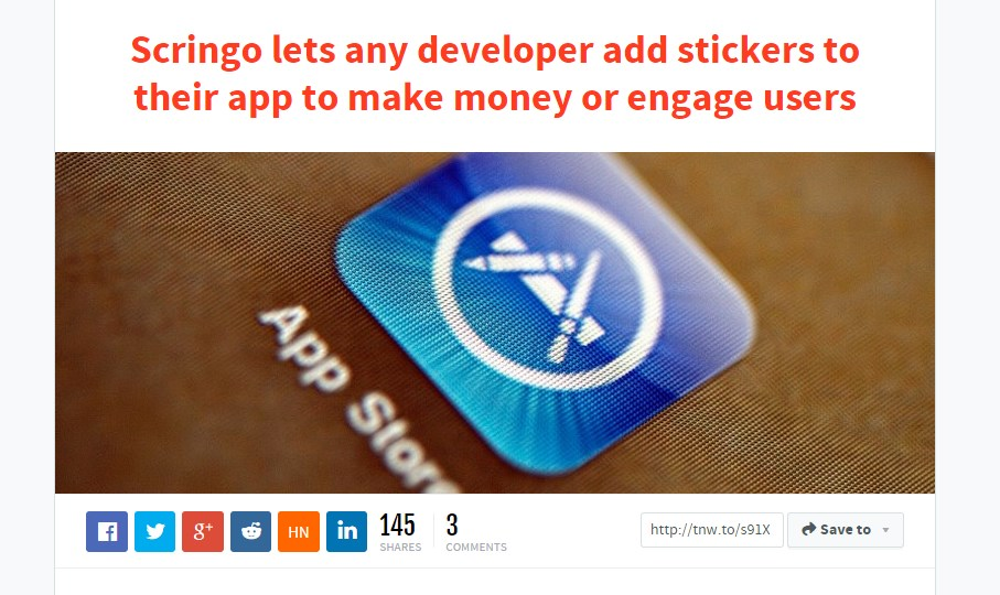 cringo lets any developer add stickers to their app to make money or engage users