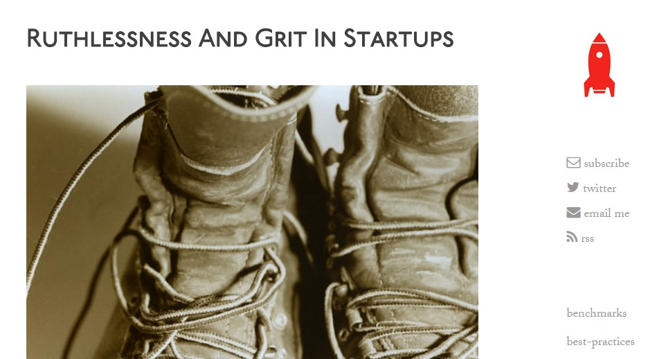 Ruthlessness And Grit In Startups