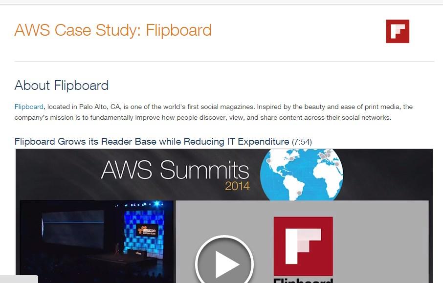 AWS Case Study: Flipboard