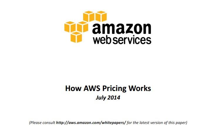 How AWS PricingWorks