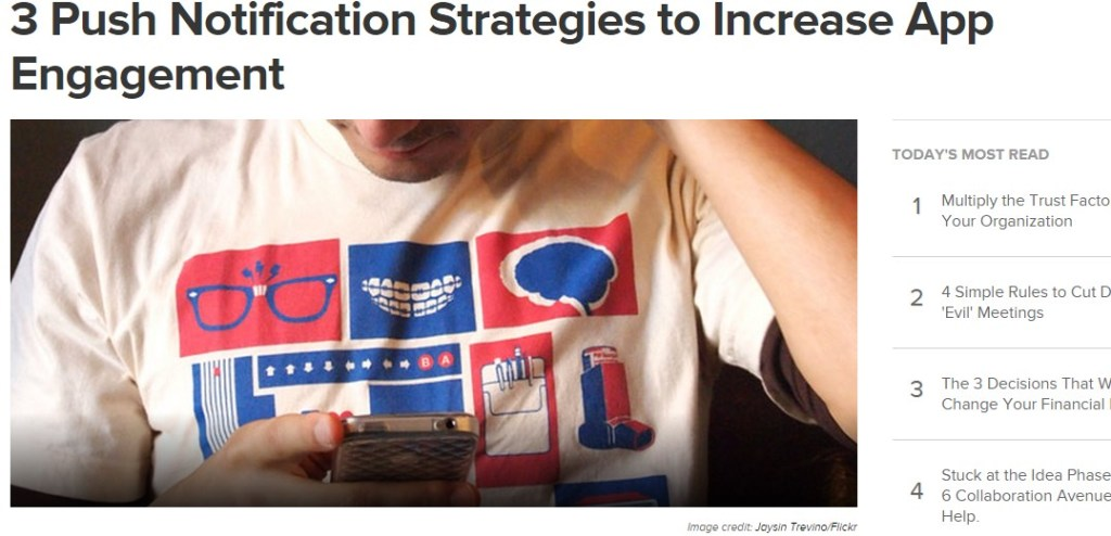 3 Push Notification Strategies to Increase App Engagement