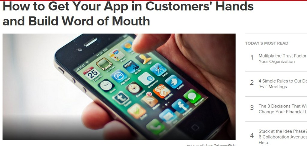 How to Get Your App in Customers' Hands and Build Word of Mouth